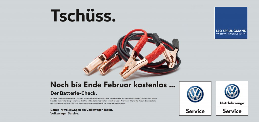 VW Batterie-Check