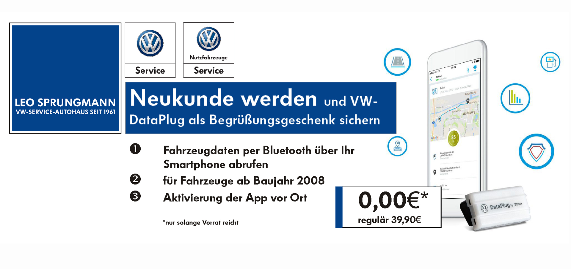 VW-Connect-Data-Plug 2 - Webseite